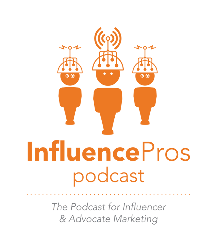InfluencePros Podcast logo design, Convince and Convert