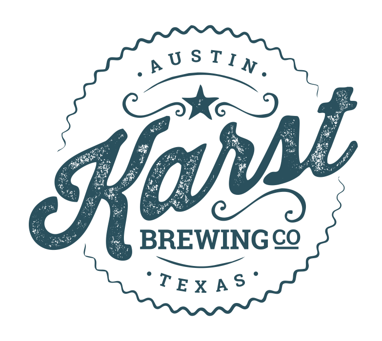 Karst Brewing Company logo design, Austin, Texas