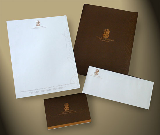 Ritz-Carlton Stationery Package