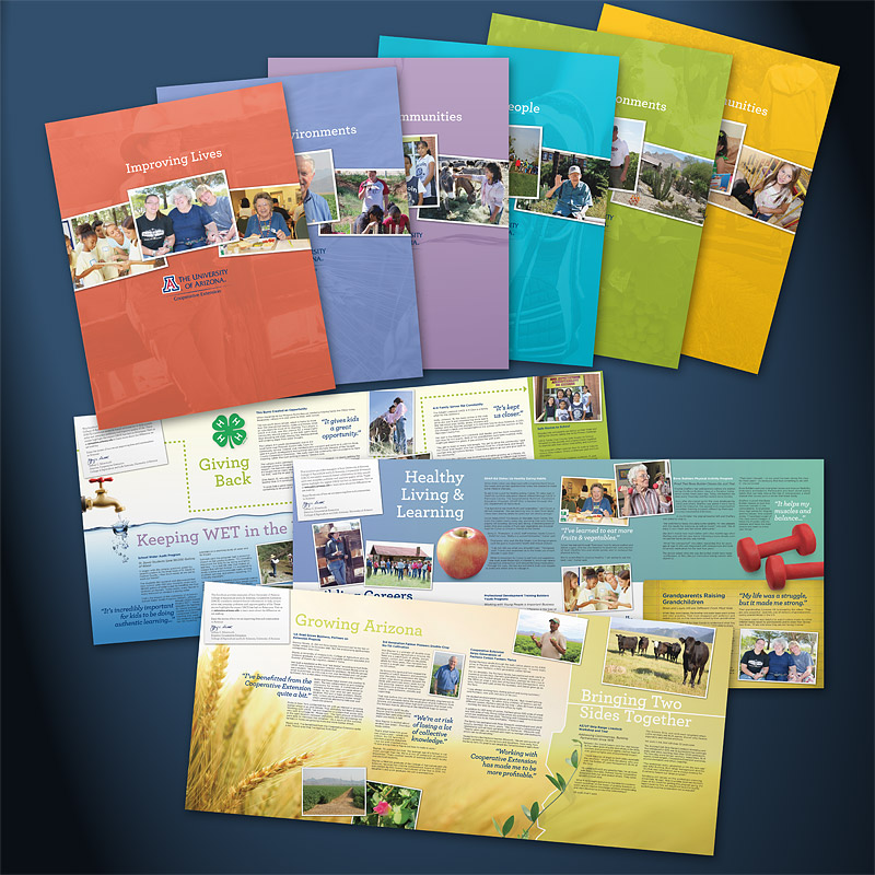 University of Arizona Cooperative Extension, brochure designs