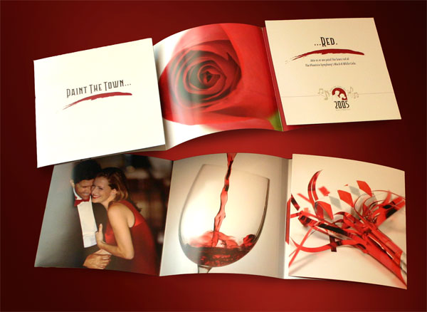 Phoenix Symphony Invitation Design